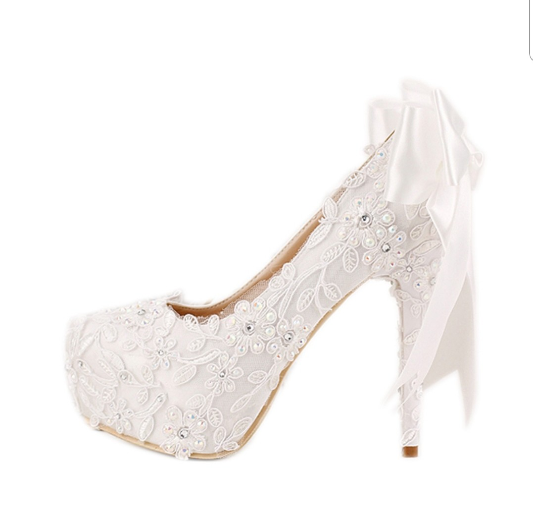 Cute wedding shoes eb3c05357