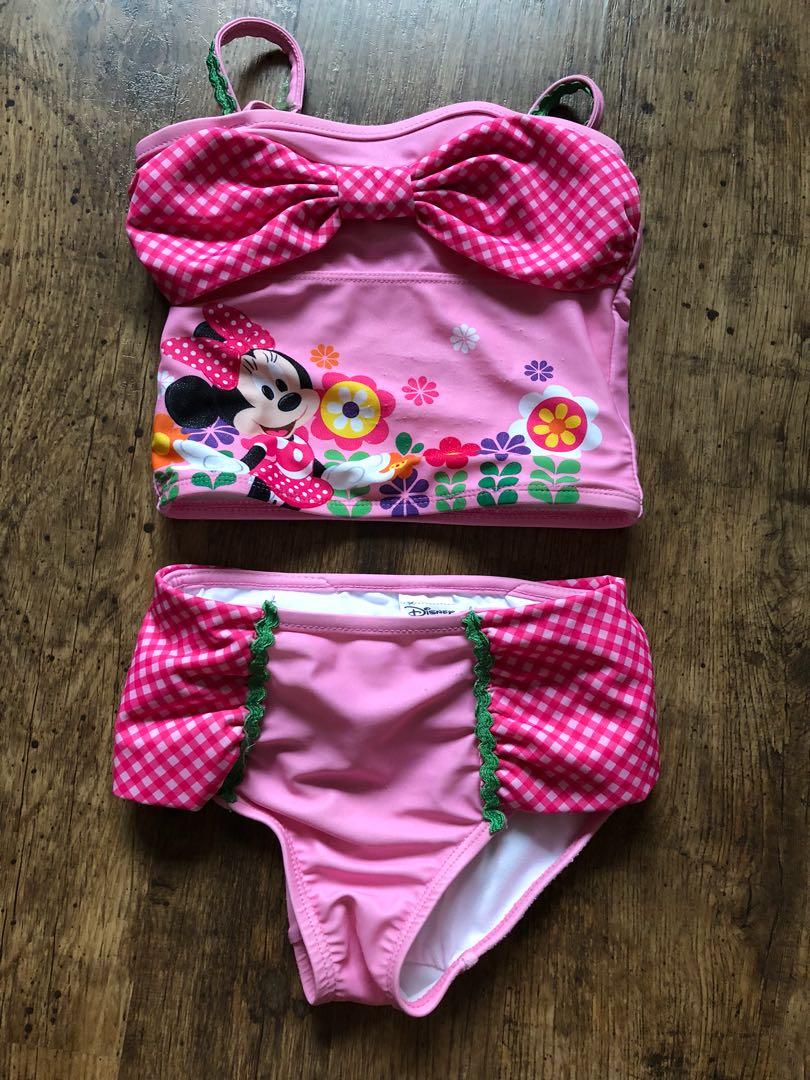 806351cd98 Disney store Minnie swimsuit bikini, Babies & Kids, Girls' Apparel ...