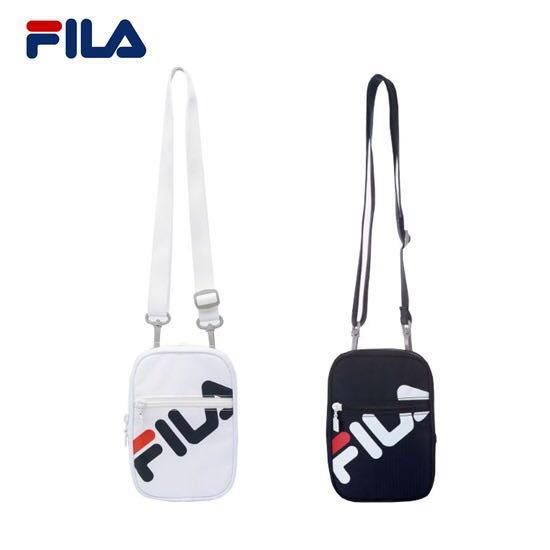 Fila Heritage Sling Passport Bag in White cb5d7f04d5658