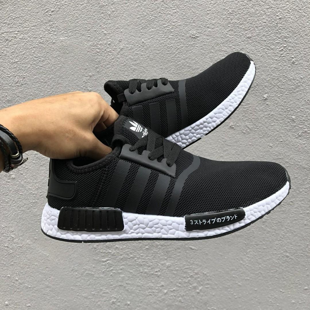 sports shoes eb811 7d1e7 FREEPOS🤡RESTOCK 🔥 Adidas NMD R1 Japan Black White, Fesyen Lelaki, Kasut  Lelaki, Sneakers di Carousell