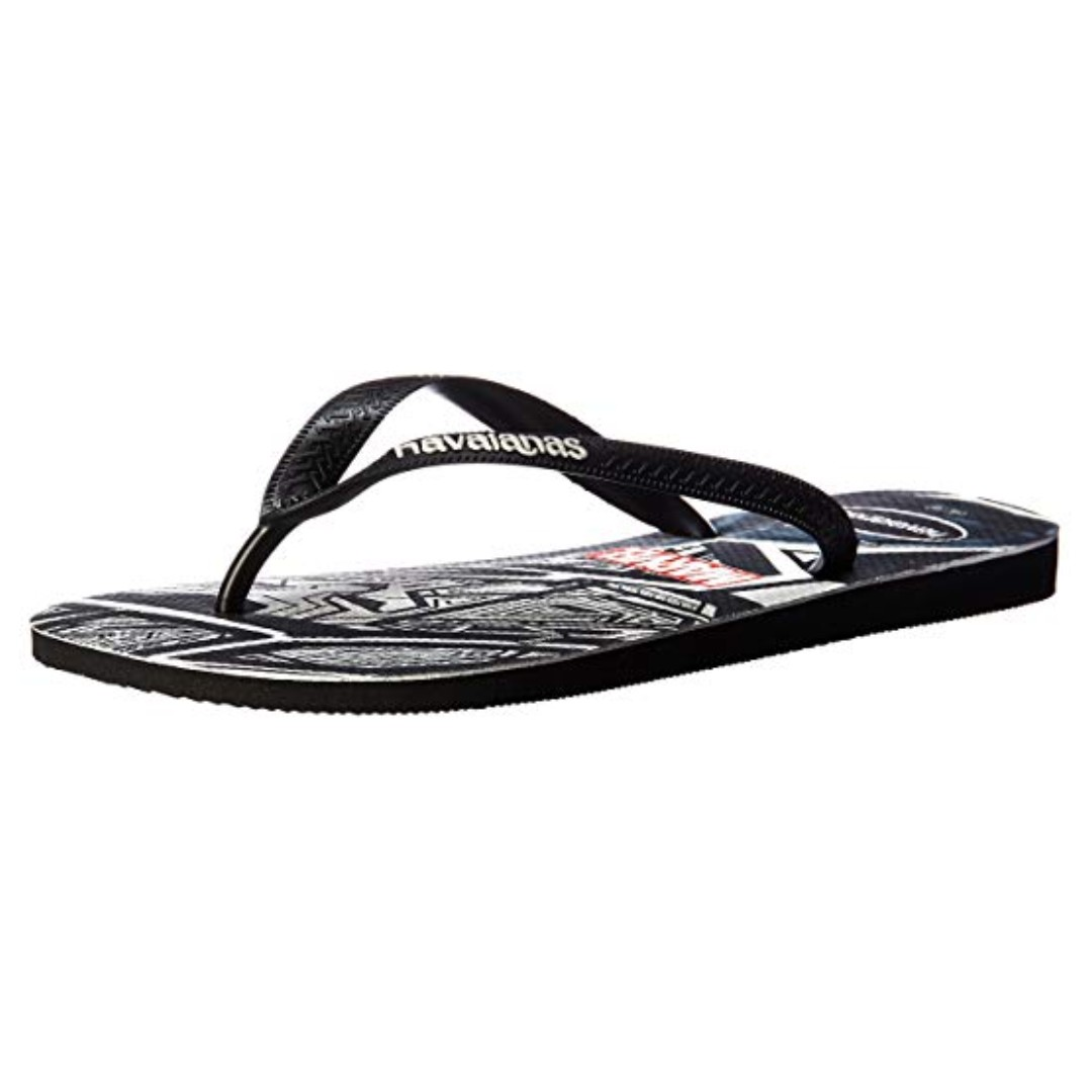 d20ddc60dc30de Havaianas Men s Top Marvel Black Panther Sandal 39 40