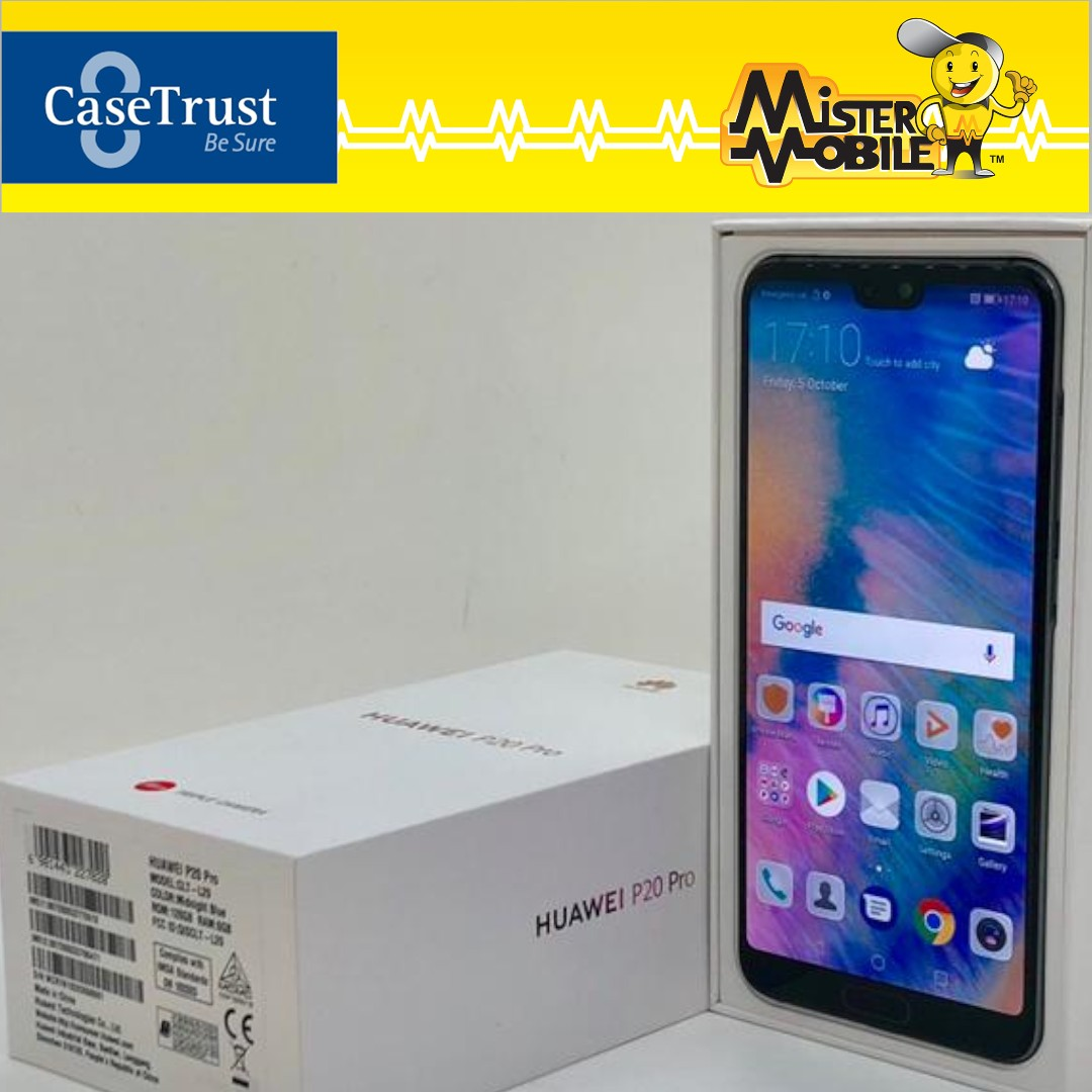 Huawei P20 Pro 128GB Midnight Blue (Pre Owned)