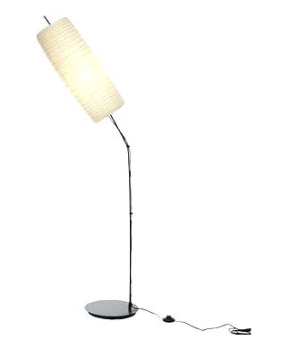 Ikea Floor Lamp Rice Paper Shade Furniture Home Decor