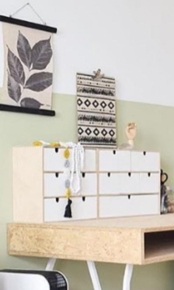 Ikea wooden drawers