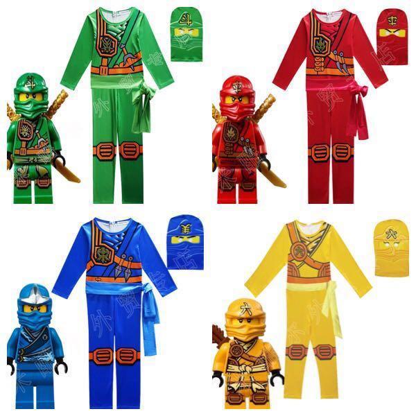 Ninjago Halloween Costume.In Stock Ninja Costume Ninjago Costume Kids Warrior Costume