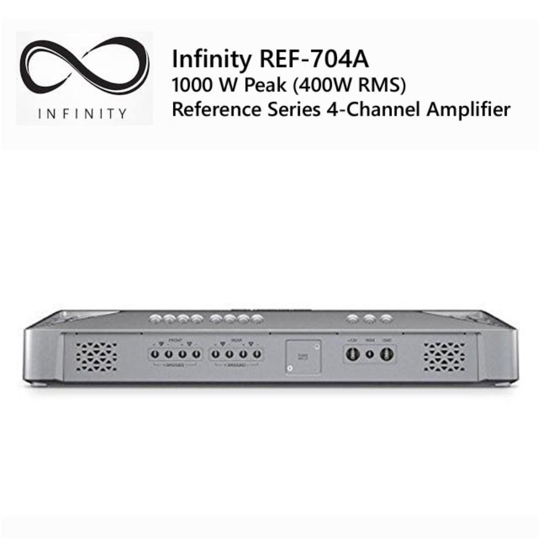 Infinity REF-704A 1000W Peak (400W RMS)