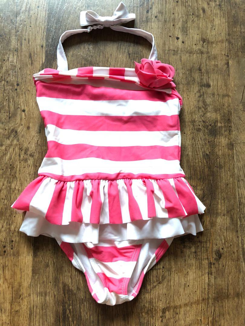 2ab71c9b0b7c8 Janie and jack one piece swimsuit, Babies & Kids, Girls' Apparel, 4 ...