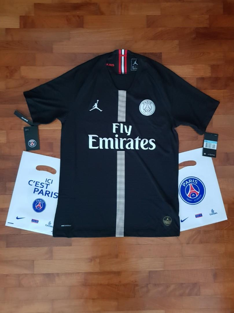 on sale 883a7 957e6 Jordan x PSG UCL Home Match Jersey; Authentic VaporKnit ...