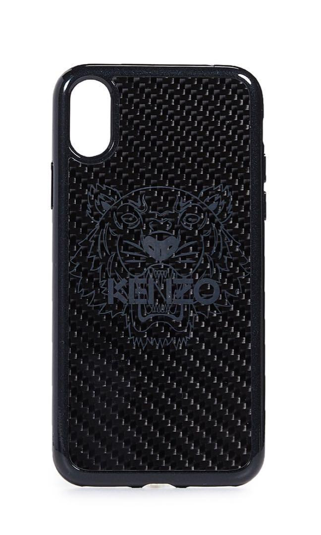 db57ebe8 Kenzo Black iPhone X Logo Case, Mobile Phones & Tablets ...