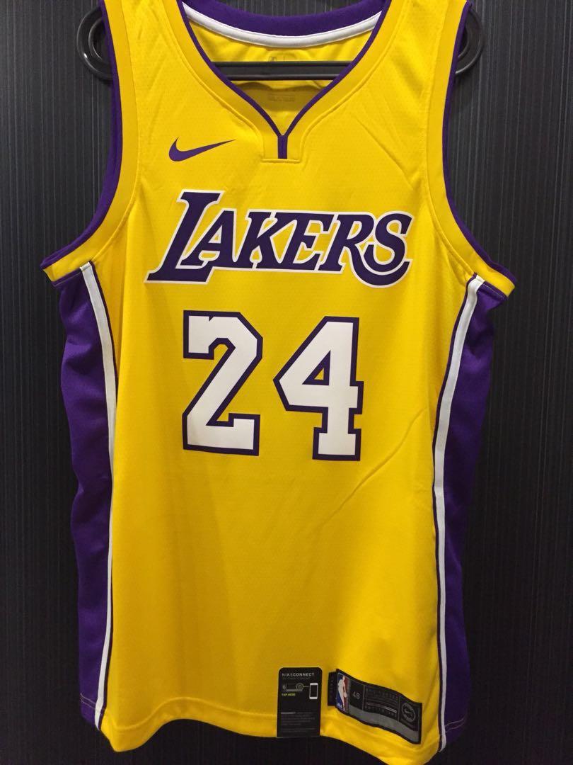 brand new 19e68 14399 La Lakers Kobe Bryant Jersey