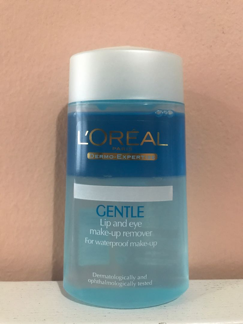 ... l oréal gentle lip and eye make up remover health beauty face skin care on carousell ...