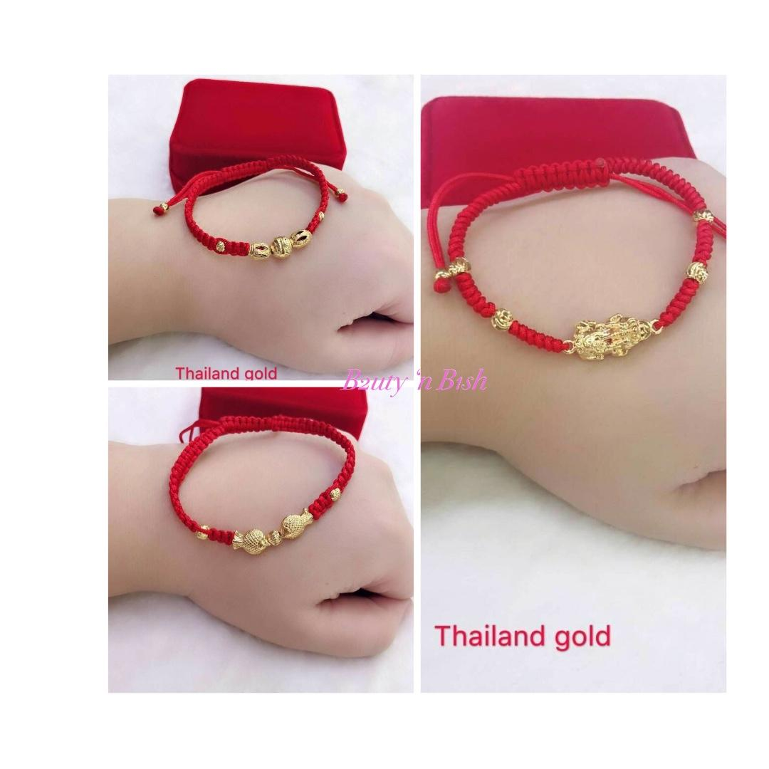 37b2bf68768db0 Lucky Charm Red String/Line Bracelets on Carousell
