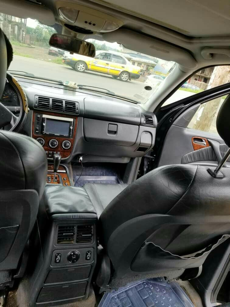 Mercedes, ML,2002. Bluetooth, player system.qui chair.