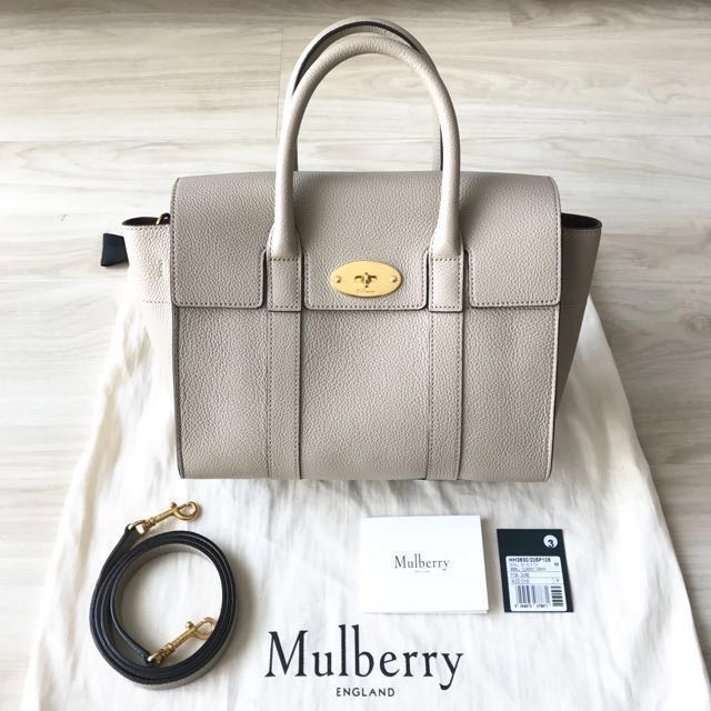 1c6b37dbcb ... inexpensive mulberry small bayswater in dune luxury bags wallets on  carousell 527f4 88dc4