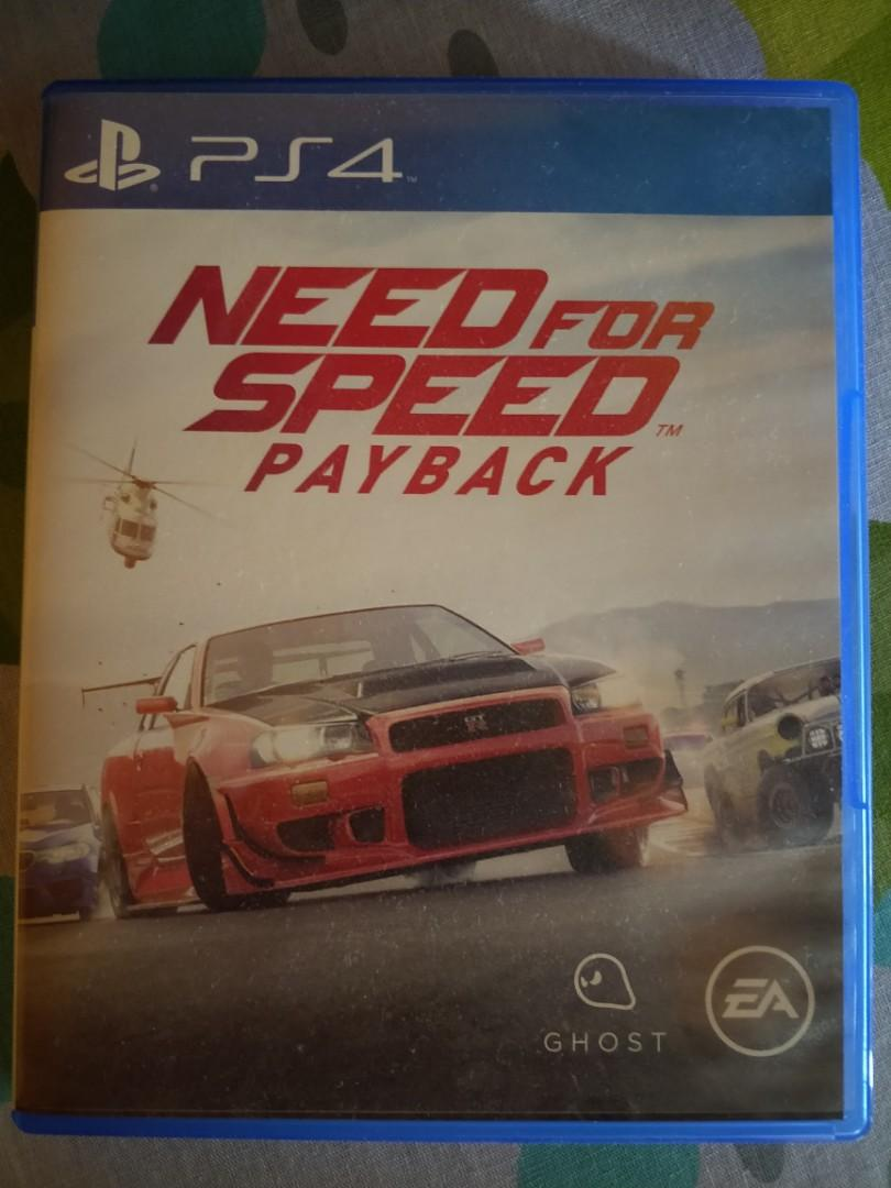 Need For Speed Payback Ps4 Toys Games Video Gaming Video