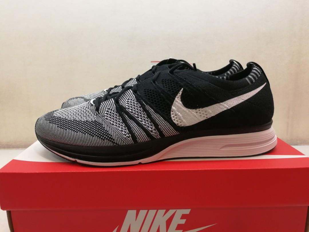 b7c3372dd540 Nike Flyknit Trainer OG Black  White Oreo AH8396-005 US11