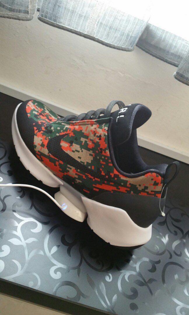 Nike Hyperadapts 1.0 Team Orange Digi Camo 3d477afc4