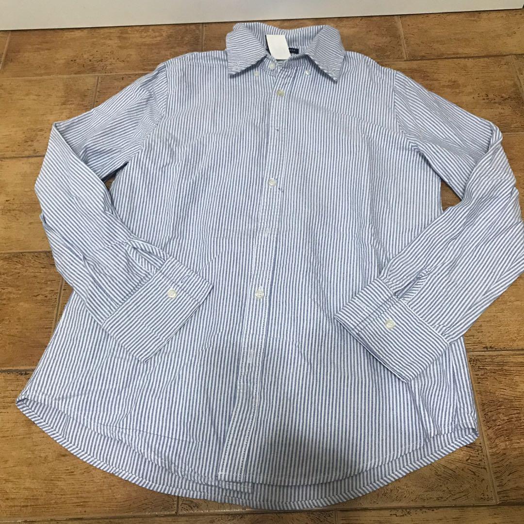 9220afc2afc24 NWT Brandy Melville light blue pinstripe isabela Oxford shirt ...
