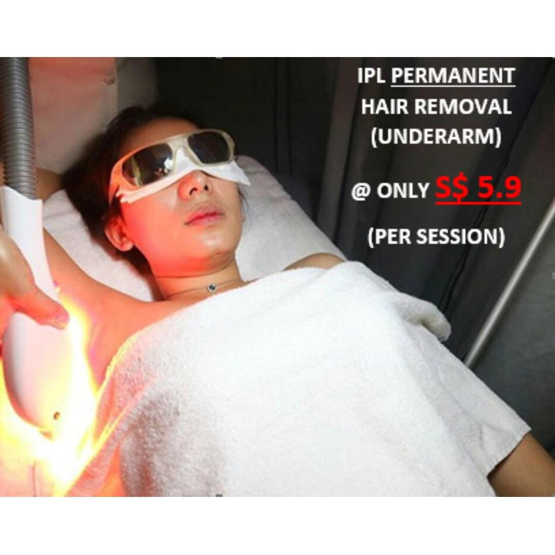 Permanent Hair Removal - IPL Permanent Hair Removal