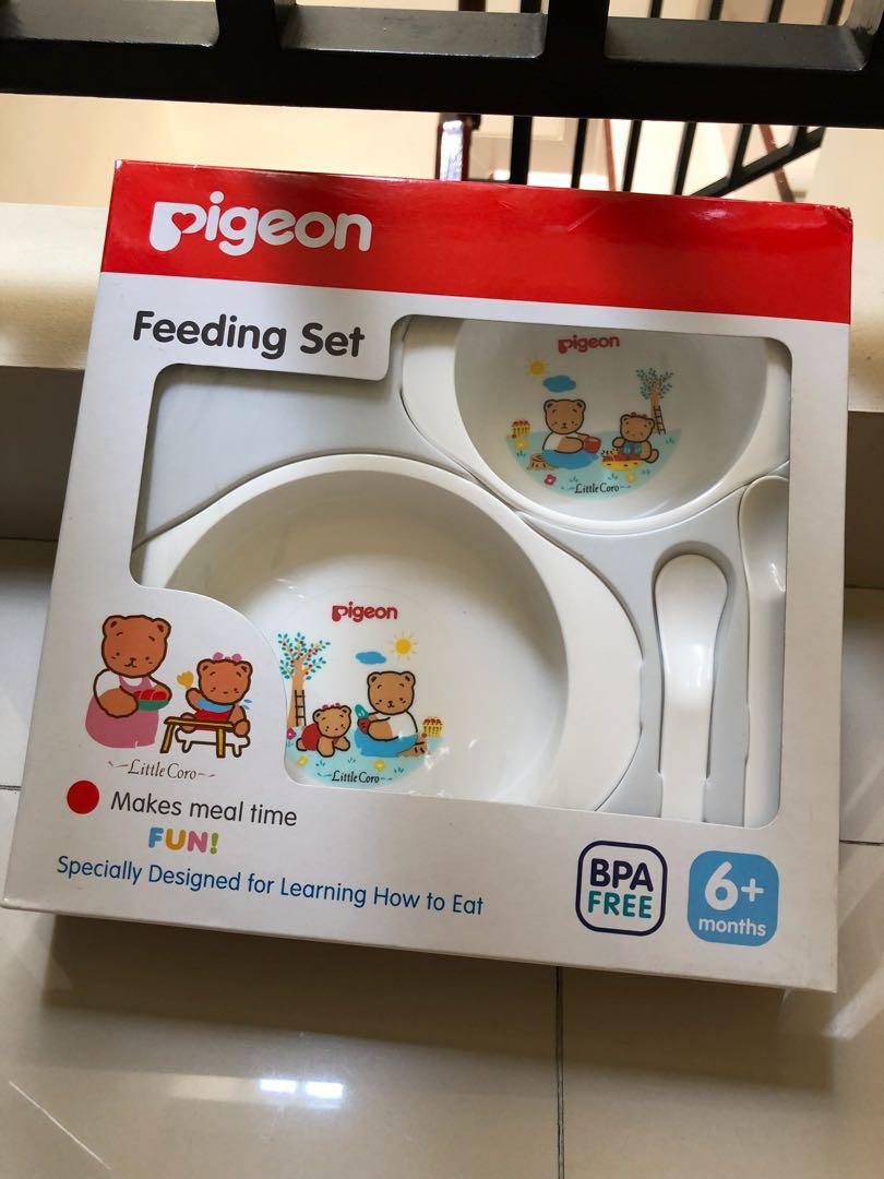 Pigeon Feeding Set Bayi Anak Lainnya Di Carousell
