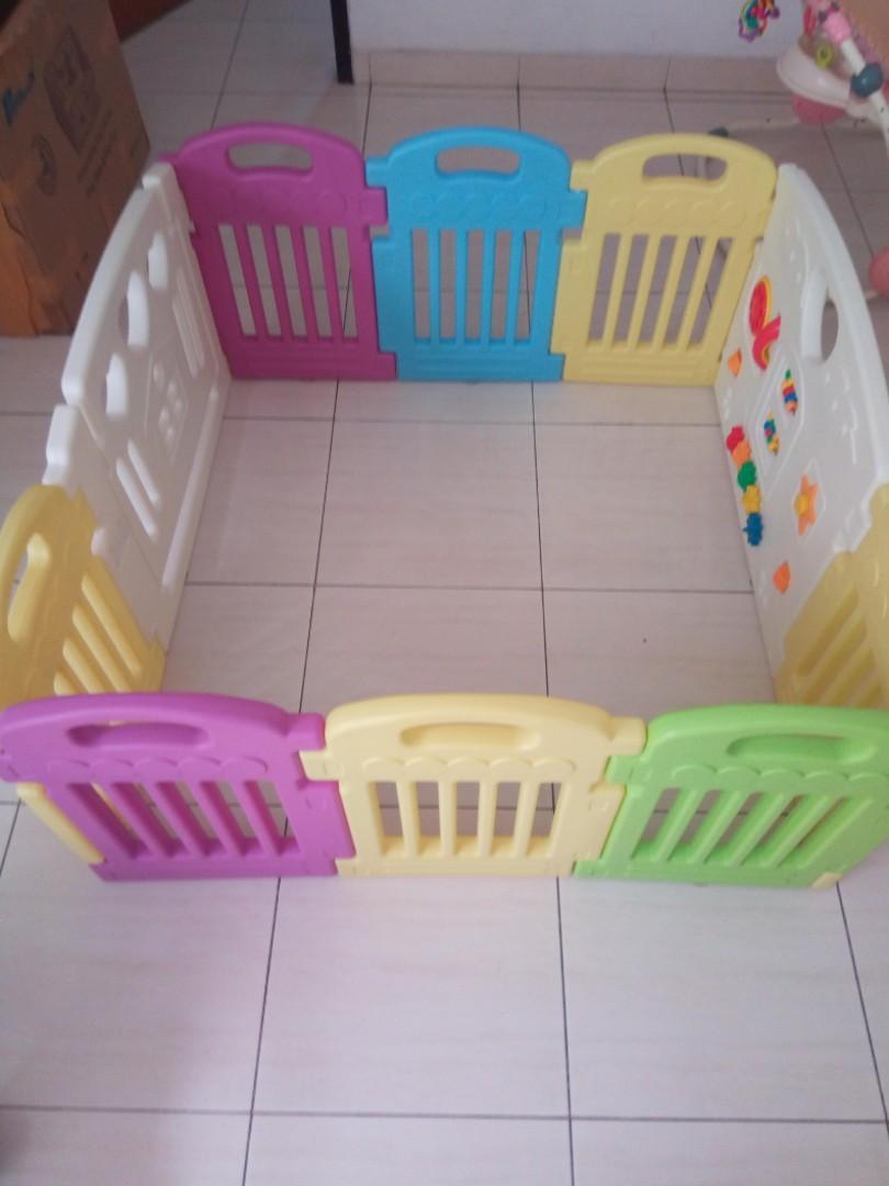Preloved Pagar Fence Bayianak Parklon Babies Kids Toys