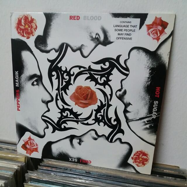 RED HOT CHILI PEPPERS - BLOOD SUGAR SEX MAGIK / 2nd Early Reissue Rare,  Music & Media, CD's, DVD's, & Other Media on Carousell