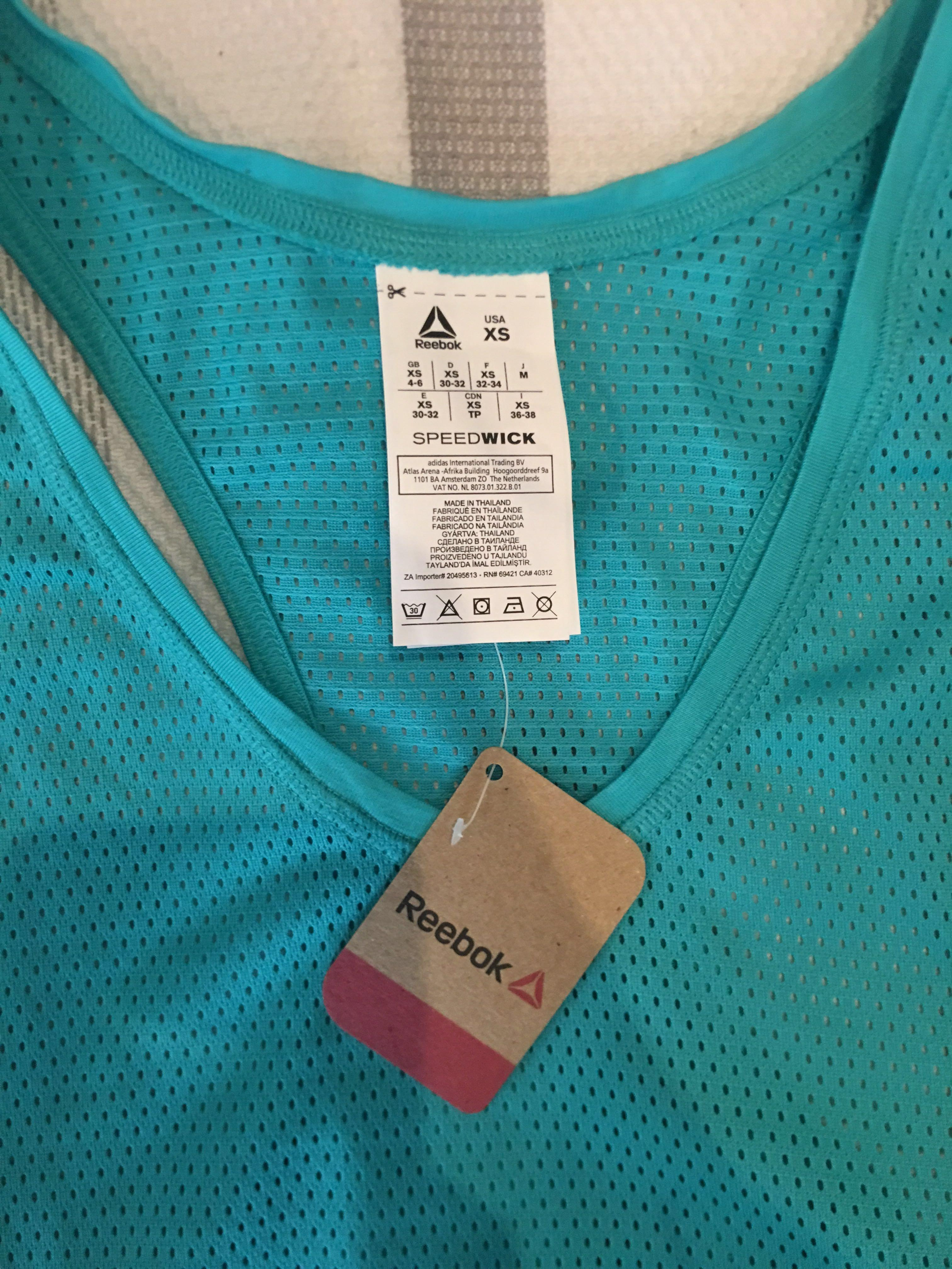 REEBOK crossfit gym leggings and singlet complete outfit