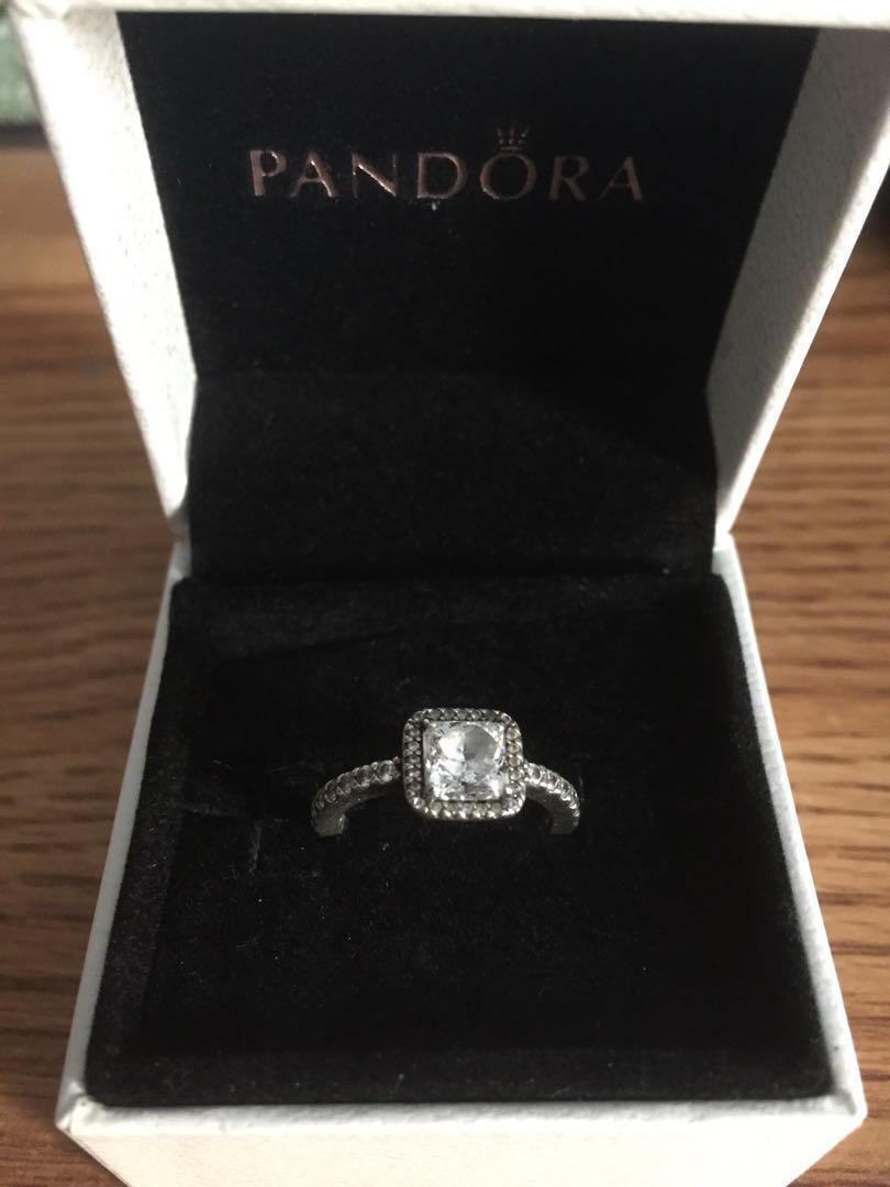 Square Pandora Ring Size 5