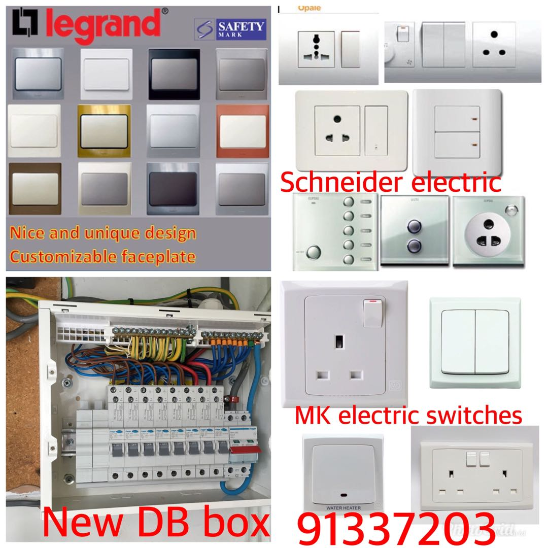 Switch Sockets Circuit Breaker Db Box Power Troubleshooting 24 7h Understanding Electricity And How To Troubleshoot A 91337203 Home Services Repairs On Carousell
