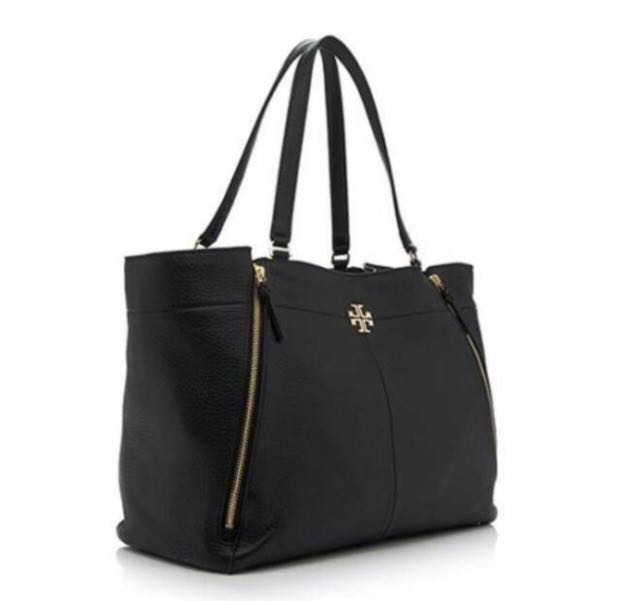 39f66bf40353 Tory burch ivy leather tote bag