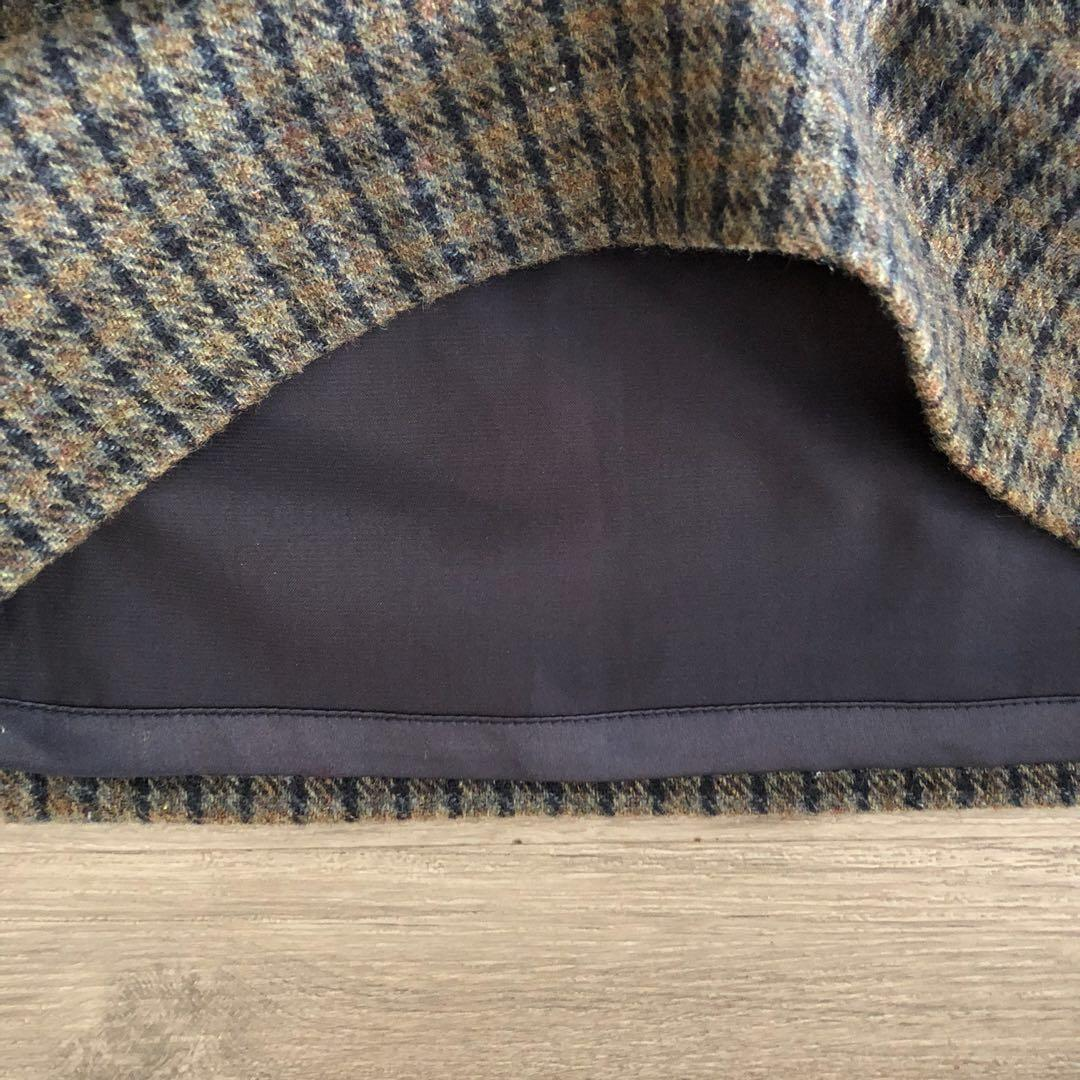 Tweed Vintage Mini Skirt