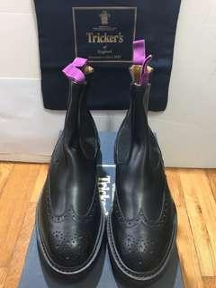 TRICKER'S 全新 英國製 真皮皮鞋UK8.5 $3980 (購自連卡佛原價$5500)TRICKERS made in england visvim grizzle boots Loake Grenson danner soulive madness b印yoshida yoshida f/ce red wing beams b&y ur united arrows beauty & youth urban research billy's billys bshop heritage