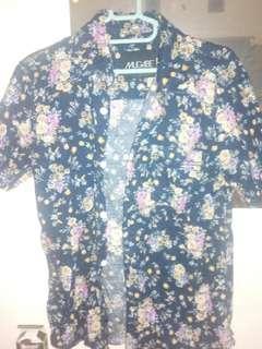 Floral shirt by mugabe