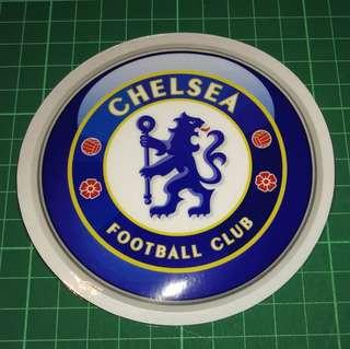 Static Cling Decals of Top EPL clubs - Arsenal FC, Chelsea, Liverpool, Man U, etc. 11cm diameter. $6 each or 3 for $15. Free Normal Mail or Add $2.90 for AM Mail.