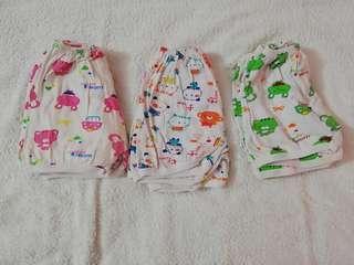#bundlesforyou 10 pcs of baby short pants (home wear)