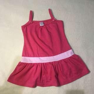 Pink Dress for Baby Girl - Bebe by So-en