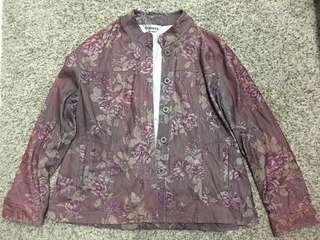 Jacket sweater windbreaker hipster vintage rose harry styles