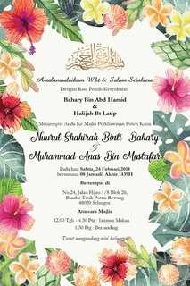 E-Kad Kahwin / Wedding Ecard