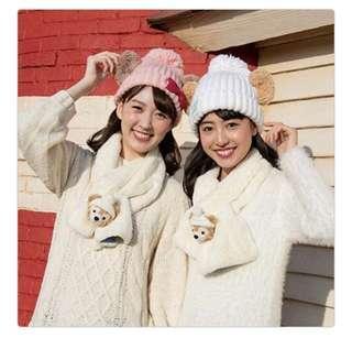 🚚 預購價 東京迪士尼聖誕節系列 毛帽