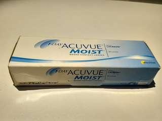 Preloved softlens daily acuvue - 1,75