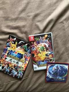 Nintendo Switch Pokken Japan Edition + Launch Bonus