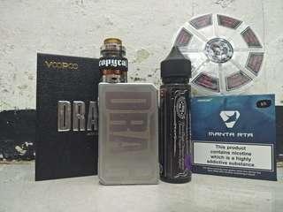 Vape drag + Manta
