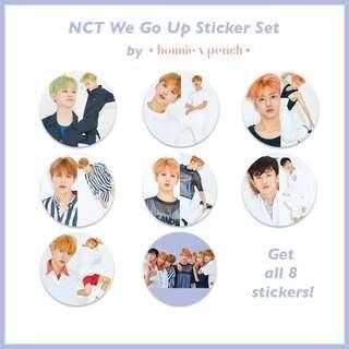 NCT We Go Up Sticker Set