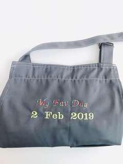 Wedding gift apron