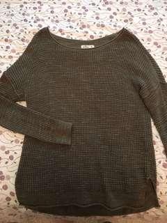 Green Hollister Sweater