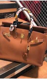 *LNIB* Hermes B35 Classic Gold Togo leather Ghw #T