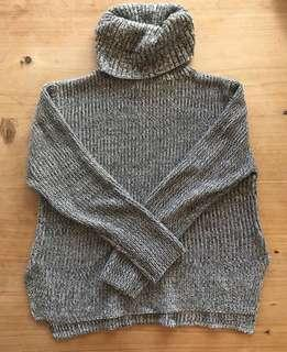 Turtle Neck Knitted Jumper