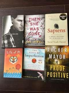 Books on sale ($7 each) buy more cheaper!