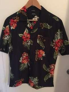 George's Floral Dress Shirt