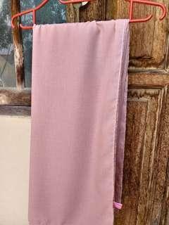 Hijab/ Jilbab Segi Empat/ Square Femme Outfit Rachel Shawl- Light Pinky Peach